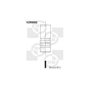 BGA V290002 Клапан