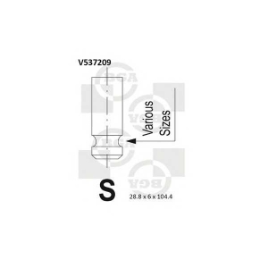 BGA V537209 Valve