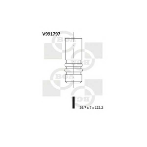 BGA V991797 Клапан