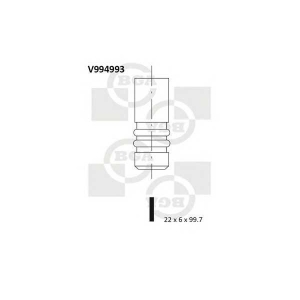 BGA V994993 Valve