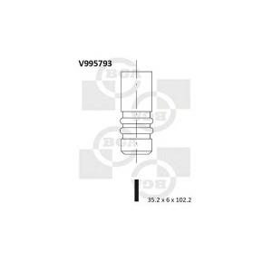 BGA V995793 Клапан