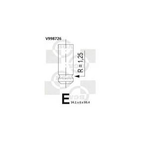 BGA V998726 Впускной клапан