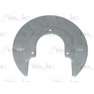 BLIC 6508-03-9558379P Захист лів./прав. гальмівного диска зад. VW T4 2.5TDi 96-03