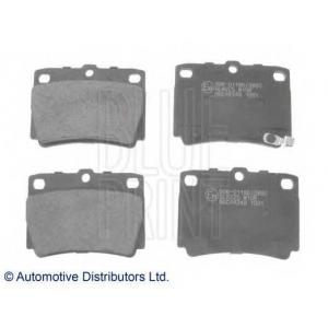 C25011 Колодки тормозные дисковые ADC44248 (шт.) adc44248 blueprint -