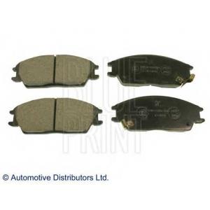 BLUE PRINT ADG04202 Комплект тормозных колодок, дисковый тормоз Хюндай Акцент