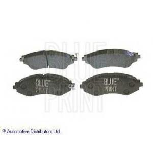 BLUE PRINT ADG04207 Комплект тормозных колодок, дисковый тормоз Дэу Леганза