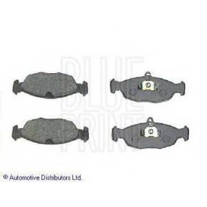 BLUE PRINT ADG04228 Комплект тормозных колодок, дисковый тормоз Ягуар