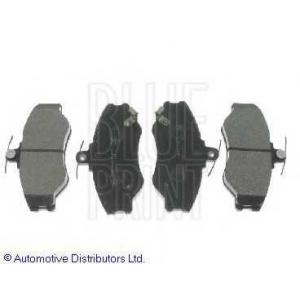 BLUE PRINT ADG04234 Комплект тормозных колодок, дисковый тормоз Хюндай Н100