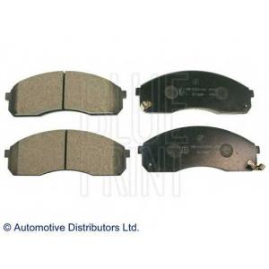 BLUE PRINT ADG04236 Комплект тормозных колодок, дисковый тормоз Киа Преджио