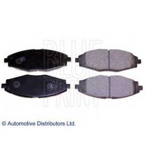 BLUE PRINT ADG04268 Комплект тормозных колодок, дисковый тормоз Дэу Матиз