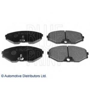 Комплект тормозных колодок, дисковый тормоз adn142112 blueprint -