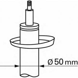 BOGE 32-V05-A Амортизатор audi/vw/skoda  a3/octavia/golf 7 12> передний d=50