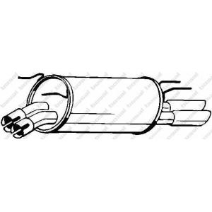 BOSAL 185-215 Exhaust manifold