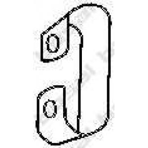 BOSAL 251235 Кронштейн, система выпуска ОГ