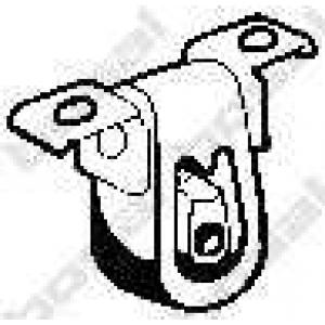BOSAL 255034 Елемент випускної системи