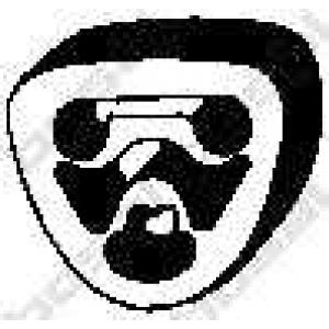 Буфер, глушитель 255080 bosal - MERCEDES-BENZ C-CLASS (W202) седан C 180 (202.018)