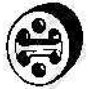 BOSAL 255-145 Кронштейн подвески глушителя