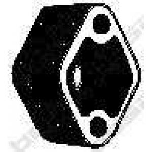 Буфер, глушитель 255175 bosal - CITRO?N AX (ZA-_) Наклонная задняя часть 10