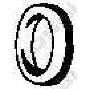Буфер, глушитель 255213 bosal - ROVER 2000-3500 Наклонная задняя часть (SD1) Наклонная задняя часть 3500