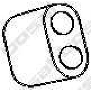 BOSAL 255819 Резинка глушителя