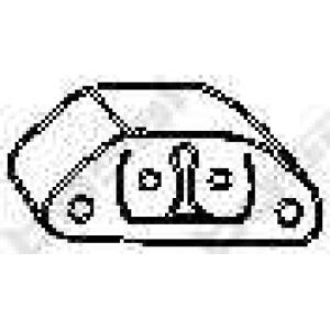 Буфер, глушитель 255973 bosal - ALFA ROMEO 155 (167) седан 1.7 T.S. (167.A4D, 167.A4H)