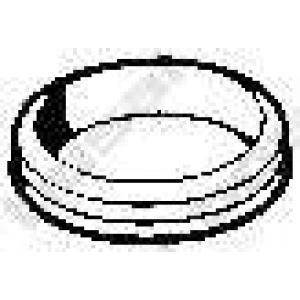 Уплотнительное кольцо, труба выхлопного газа 256027 bosal - AUDI A6 (4A, C4) седан 2.0