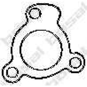 Уплотнительное кольцо, труба выхлопного газа 256045 bosal - MAZDA MX-3 (EC) купе 1.6 i