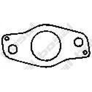 Уплотнительное кольцо, труба выхлопного газа 256059 bosal - KIA SEPHIA (FA) Наклонная задняя часть 1.6 i