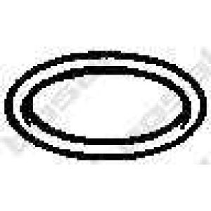 Уплотнительное кольцо, труба выхлопного газа 256109 bosal - ROVER 200 (XH) седан 213 S