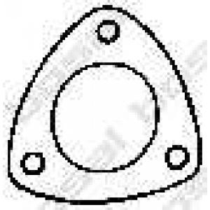 Уплотнительное кольцо, труба выхлопного газа 256189 bosal - AUDI A3 (8L1) Наклонная задняя часть 1.9 TDI