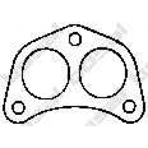 Уплотнительное кольцо, труба выхлопного газа 256642 bosal - FORD ESCORT IV (GAF, AWF, ABFT) Наклонная задняя часть 1.1