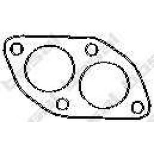 256901 bosal Прокладка, труба выхлопного газа AUDI A6 седан 2.0