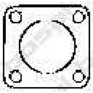 BOSAL 256931 Уплотнительное кольцо, выпускной тр