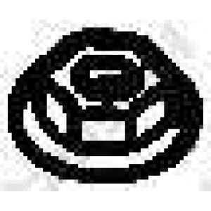 BOSAL 258-036 Гайка, выпускной коллектор