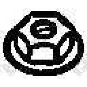 BOSAL 258-038 Гайка, выпускной коллектор