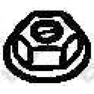 BOSAL 258-047 Гайка, выпускной коллектор