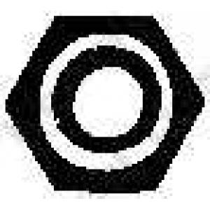 BOSAL 258-053 Гайка, выпускной коллектор