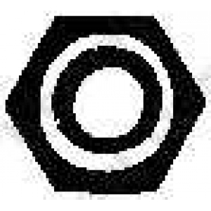 BOSAL 258-055 Гайка, выпускной коллектор