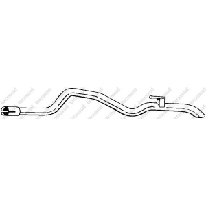 BOSAL 451-359 Exhaust pipe