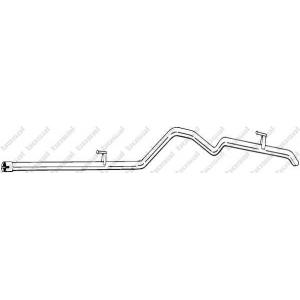 Труба выхлопного газа 665367 bosal - MERCEDES-BENZ SPRINTER 4-t c бортовой платформой/ходовая часть (904) c бортовой платформой/ходовая часть 408 D