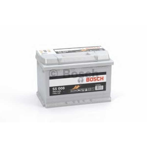 Стартерная аккумуляторная батарея; Стартерная акку 0092s50080 bosch - RENAULT KANGOO Express (FW0/1_) фургон 1.5 dCi 110