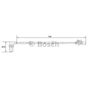 BOSCH 0265001339 ABS sensor