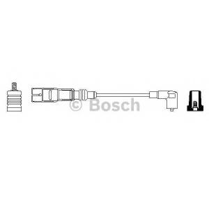 Провод зажигания 0356912888 bosch - AUDI 100 (44, 44Q, C3) седан 2.2 quattro