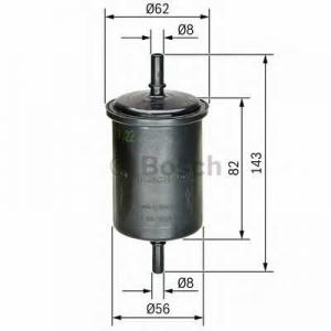 BOSCH 0450902161 Паливний фільтр 2161 CITROEN/PEUGEOT/HYUNDAI/RENAULT Logan,Berlingo,C3,C4,Accent,106,206 96-