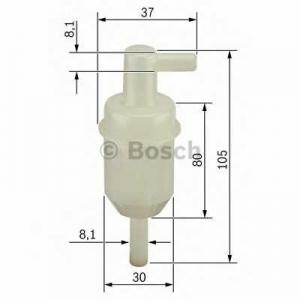 Топливный фильтр 0450904077 bosch - SSANGYONG MUSSO (FJ) вездеход закрытый 2.9 D