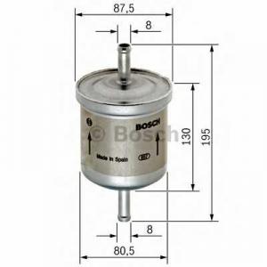 Топливный фильтр 0450905216 bosch - VOLVO 850 (LS) седан 2.5