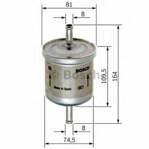 Топливный фильтр 0450905264 bosch - AUDI A6 (4B, C5) седан 2.4