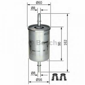 Топливный фильтр 0450905273 bosch - OPEL CORSA B (73_, 78_, 79_) Наклонная задняя часть 1.4 i