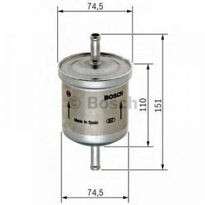 Топливный фильтр 0450905275 bosch - MERCEDES-BENZ G-CLASS (W463) вездеход закрытый G 55 AMG (463.270, 463.271)