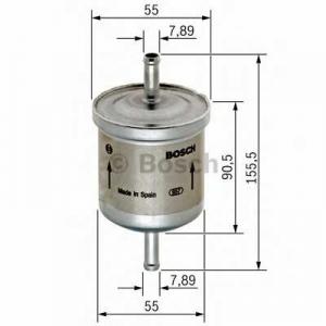 BOSCH 0450905316 Паливний фільтр 5316 AUDI/HONDA/SEAT/SKODA/VW/ВАЗ